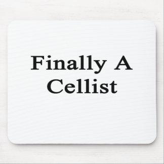 Finally A Cellist Mouse Pads