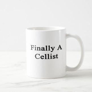 Finally A Cellist Coffee Mug