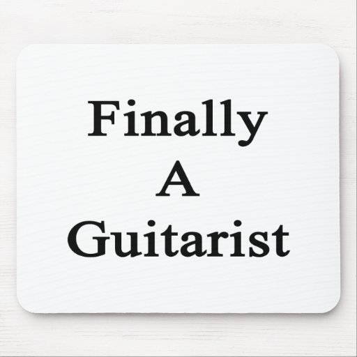 Finally A Guitarist Mouse Pad