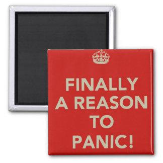 Finally a reason to panic fridge magnets
