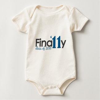 Finally Class of 2011 Baby Bodysuit