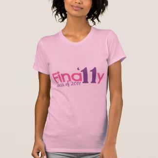 Finally Class of 2011 (Pink) Tee Shirt