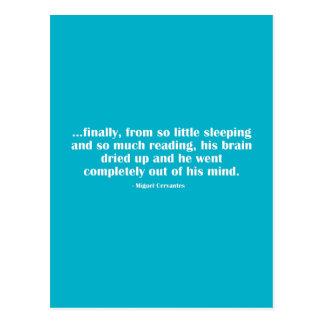 Finally, From So Little Sleeping... Postcard