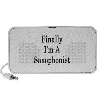 Finally I'm A Saxophonist Laptop Speaker