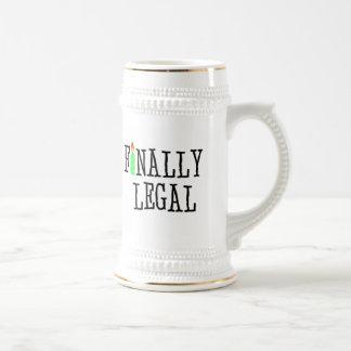 Finally Legal Beer Steins