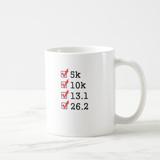 Finally ran the marathon coffee mug