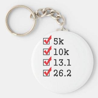 Finally ran the marathon key ring