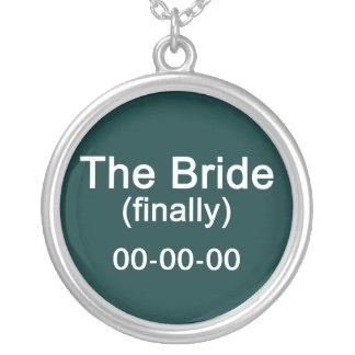 Finally the Bride Necklace Pendant