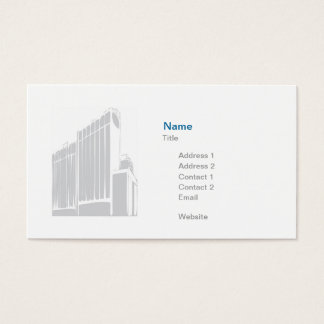 Finance/Insurance - Business Business Card