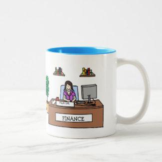 Finance professional - customizable mugs