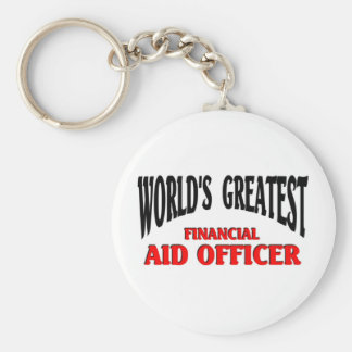 Financial Aid Officer Key Chains