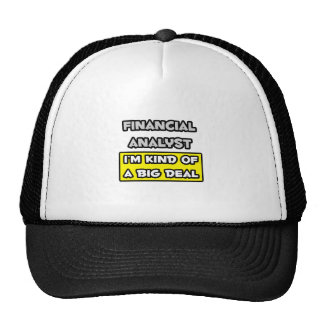 Financial Analyst I m Kind of a Big Deal Mesh Hats