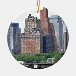 Financial District-Lower Manhattan Christmas Ornament