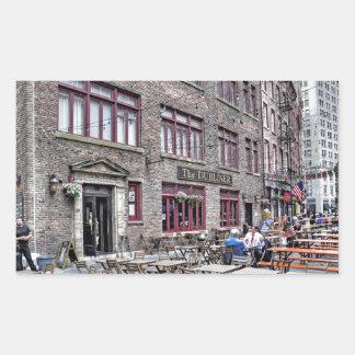 Financial District-Lower Manhattan Rectangular Sticker