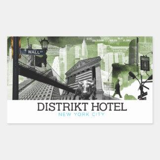 Financial District NYC Sticker