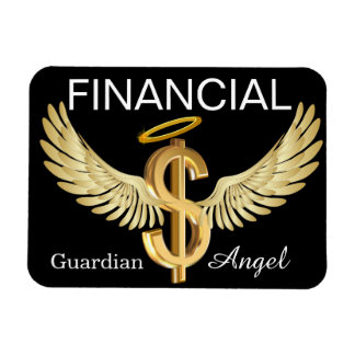 Financial Guardian Angel - SRF Vinyl Magnet