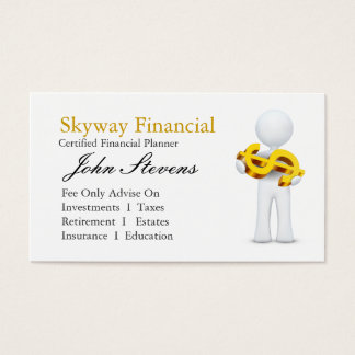 Financial Planner Business Card