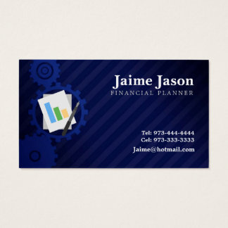 Financial Planner Business Cards