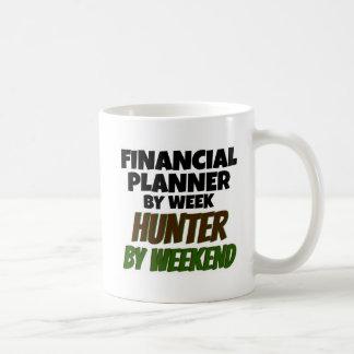 Financial Planner by Week Hunter by Weekend Basic White Mug