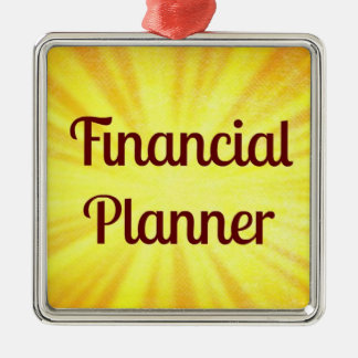 Financial Planner Christmas Ornament