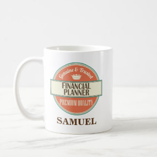 Financial Planner Personalized Office Mug Gift
