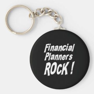 Financial Planners Rock! Keychain