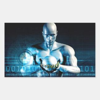 Financial Services and Technology Software Rectangular Sticker