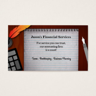 Financial Services Business Cards
