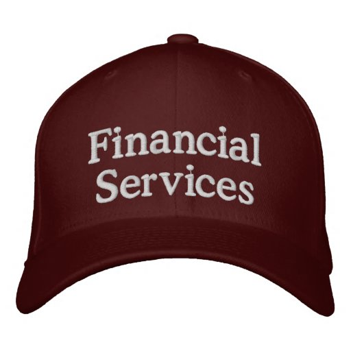 Financial services embroidered hat