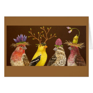Finch Party card