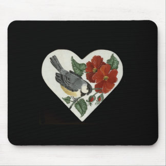 Finch & Poppies Mouse Mat