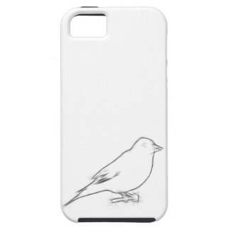 Finch Sketch iPhone 5 Covers