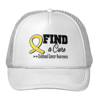Find a Cure Childhood Cancer Awareness Cap