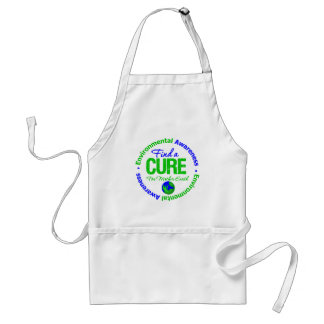 Find A Cure for Mother Earth Adult Apron