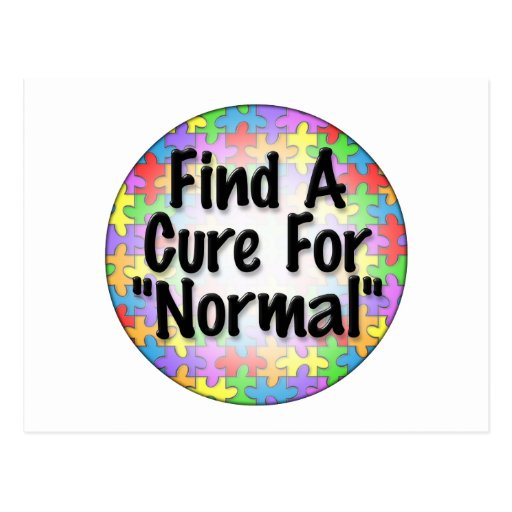 Find A Cure For Normal Post Cards
