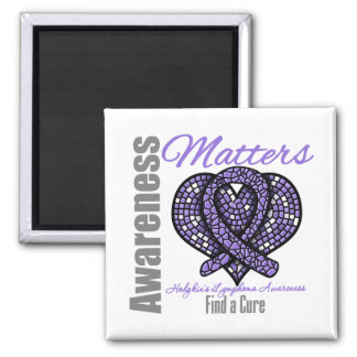 Find a Cure -  Hodgkin's Lymphoma Square Magnet