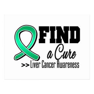 Find a Cure Liver Cancer Awareness Postcard