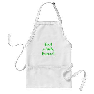 Find a little humor standard apron