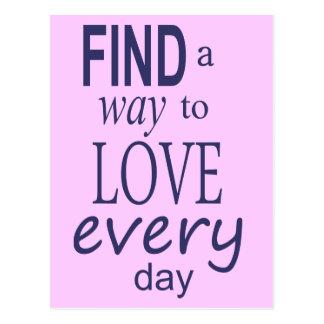 Find a Way Postcard