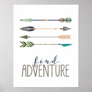 Find Adventure Poster