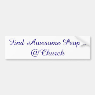Find Awesome People @Church sticker