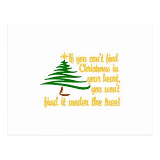 Find Christmas Postcard