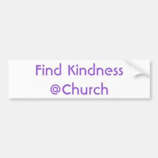 Find Kindness @Church sticker