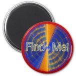 Find Me Radar Magnet