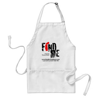 Find Me the Movie Logo Apron
