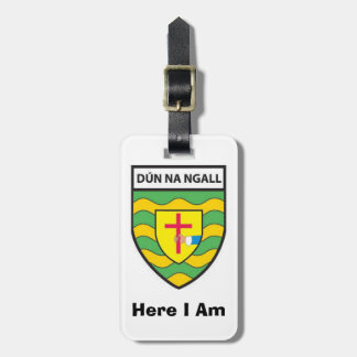Find My Luggage Personalised Donegal County ID Tag