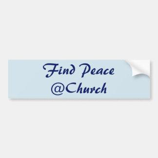 Find Peace @Church sticker