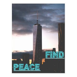 Find PEACE - wowpeer Postcard