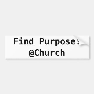 Find Purpose @Church sticker