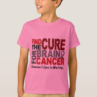 Find The Cure 1 BRAIN CANCER T-Shirts & Gifts